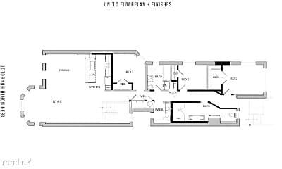 Bathroom, 1839 N Humboldt Blvd, 2