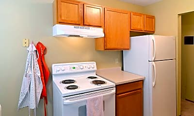 Kitchen, Parkview Apartments, 0