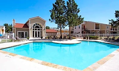 Pool, Aviare Place Apartments, 0