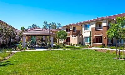 Courtyard, Avila Apartment Homes, 1