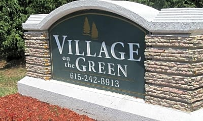 Community Signage, Village on the Green, 2
