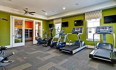 Fitness Weight Room, Arden Place Apartments, 1