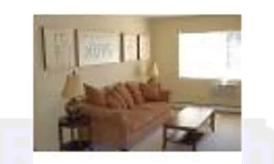 Living Room, Hunt Club Apartments, 2