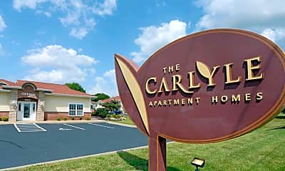 Community Signage, The Carlyle Apartment Homes, 2