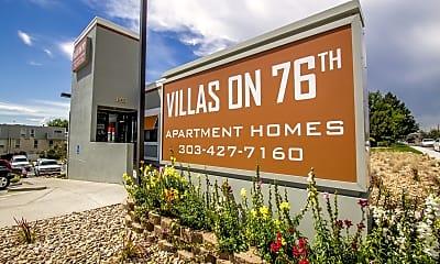 Community Signage, Villas on 76th, 0