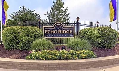 Community Signage, Echo Ridge, 2