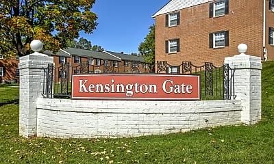 Community Signage, Kensington Gate, 2