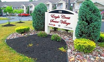 Landscaping, Eagle Crest Village, 1