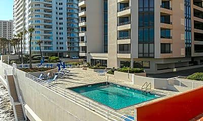 Pool, 2917 S Atlantic Ave Apt 404, 1