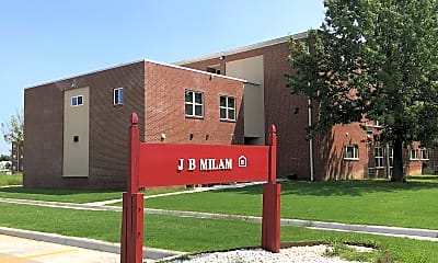 J.B. Milam Apartments, 1