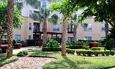 Courtyard, Oasis at Piney Point, 0