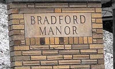 Community Signage, Bradford Manor Apartments, 2