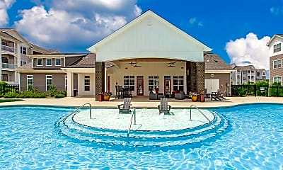 Pool, Concord Ridge, 1