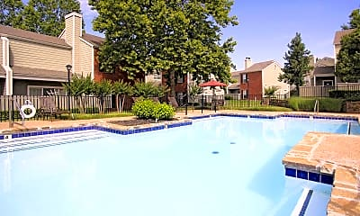 Pool, Woodland Oaks, 1