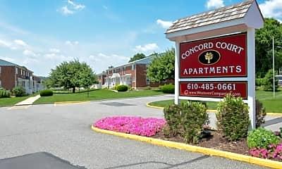 Community Signage, Concord Court Apartments, 0