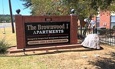 Brownwood Apartments I, 1