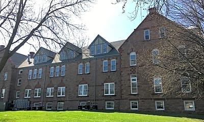 Building, Olde School Apartments, 0