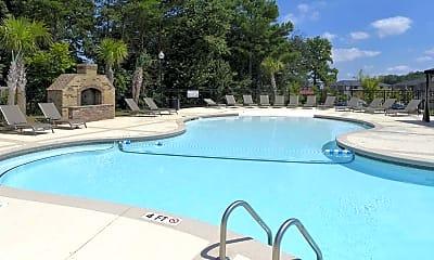Pool, Hayleigh Village Apartments, 0