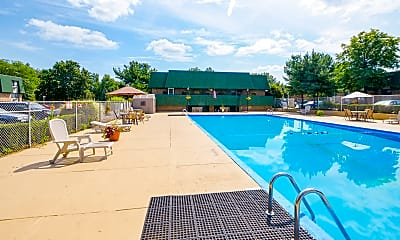 Pool, Timber Creek Apartments, 0