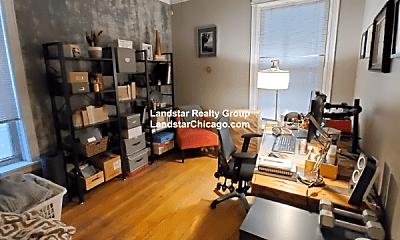 Living Room, 3710 N Paulina St, 2
