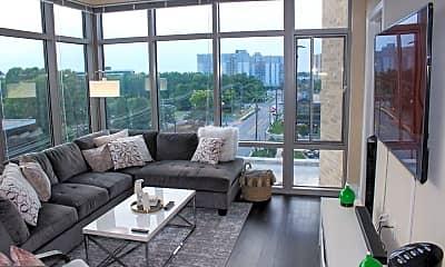 Living Room, 11550 Old Georgetown Rd 930, 0