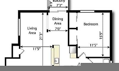 Living Room, 911 S Washington St, 2