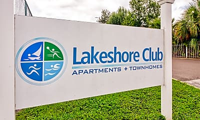 Community Signage, Lakeshore Club Apartments And Townhomes, 2