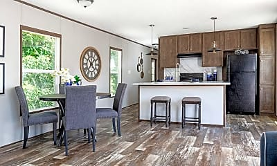 Kitchen, 9500 Wheeling Ave, 1