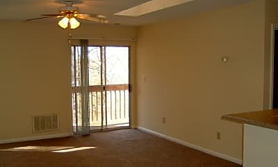Living Room, Creekside Apartments, 1