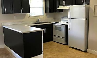 Kitchen, Maple Ridge Apartments, 2