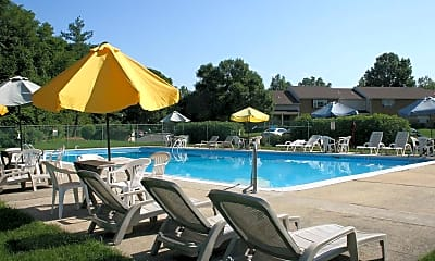 Pool, Carriage Run Apartments & Townhouses, 0
