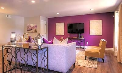 Dining Room, Willowdaile Apartments, 1