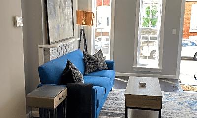 Living Room, 1165 Cleveland St, 1