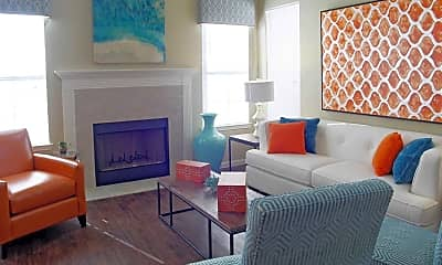 Living Room, Parkside Towns Luxury Townhomes, 1