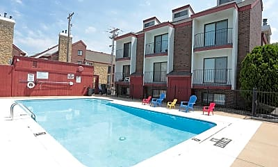 Pool, Midtown Place Apartments, 1