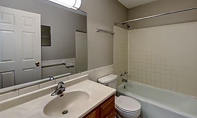 Bathroom, Park Vista Apartments, 2