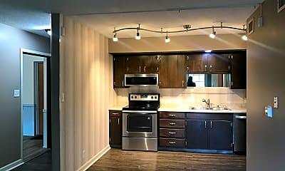 Kitchen, River Shore Apartments, 0