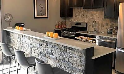 Kitchen, Stone Creek Apartments, 2