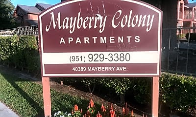 Mayberry Colony Apartment Homes, 1
