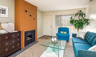 Living Room, Pepperwood Apartments, 1