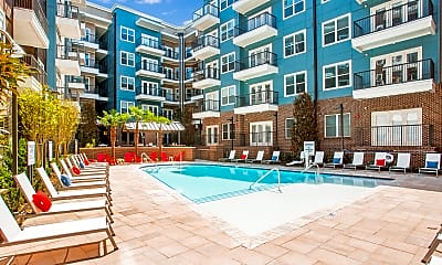 Pool, Marq Midtown 205, 0