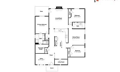 Bedroom, 10411 Chelsea Brook Ln, 2