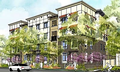 Rendering, Evelyn Family Apartments, 0
