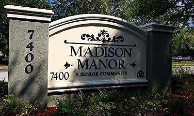 Madison Manor, 1