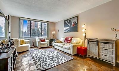 Living Room, 11801 Rockville Pike 207, 1