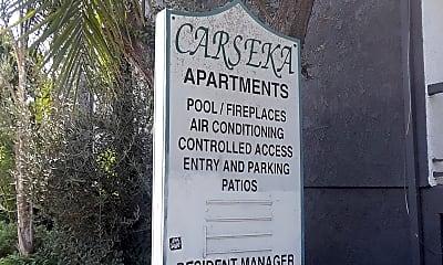 The Carseka Apartments, 1