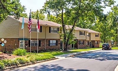 Building, Booker Creek Townhouse Apartments, 2