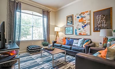 Living Room, The Suites At Overton Park, 1