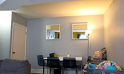 Living Room, 219 Ryers Ave 2, 1