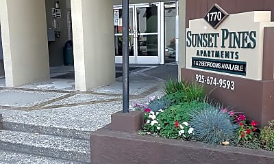 Sunset Pines Apartments, 1